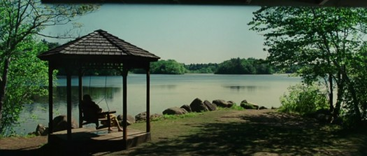 The lake house scene in Shutter Island