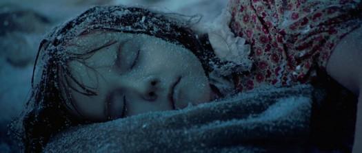 The little girl frozen at Dachau