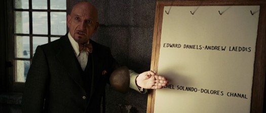 Dr Cawley explains the anagrams on Shutter Island
